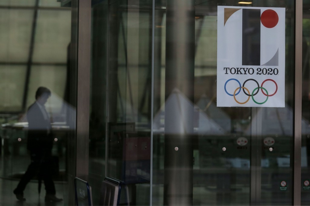The list of designs for the replacement Tokyo 2020 logo has been whittled down following the scrapping of the initial choice ©Getty Images