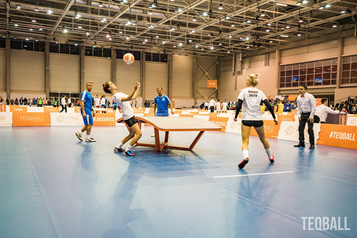 Norwegian sisters spearheading growth of teqball in Oslo