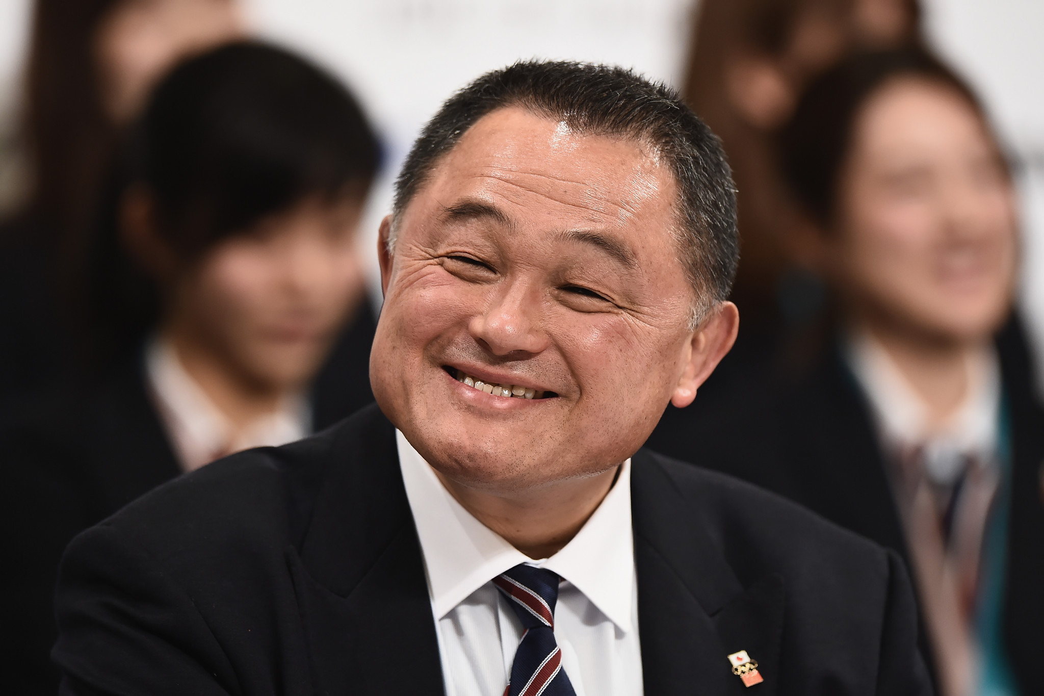 """JOC President Yasuhiro Yamashita claimed his organisation and the Tokyo 2020 Organising Committee are """"advancing step by step"""" towards next year's Games ©Getty Images"""