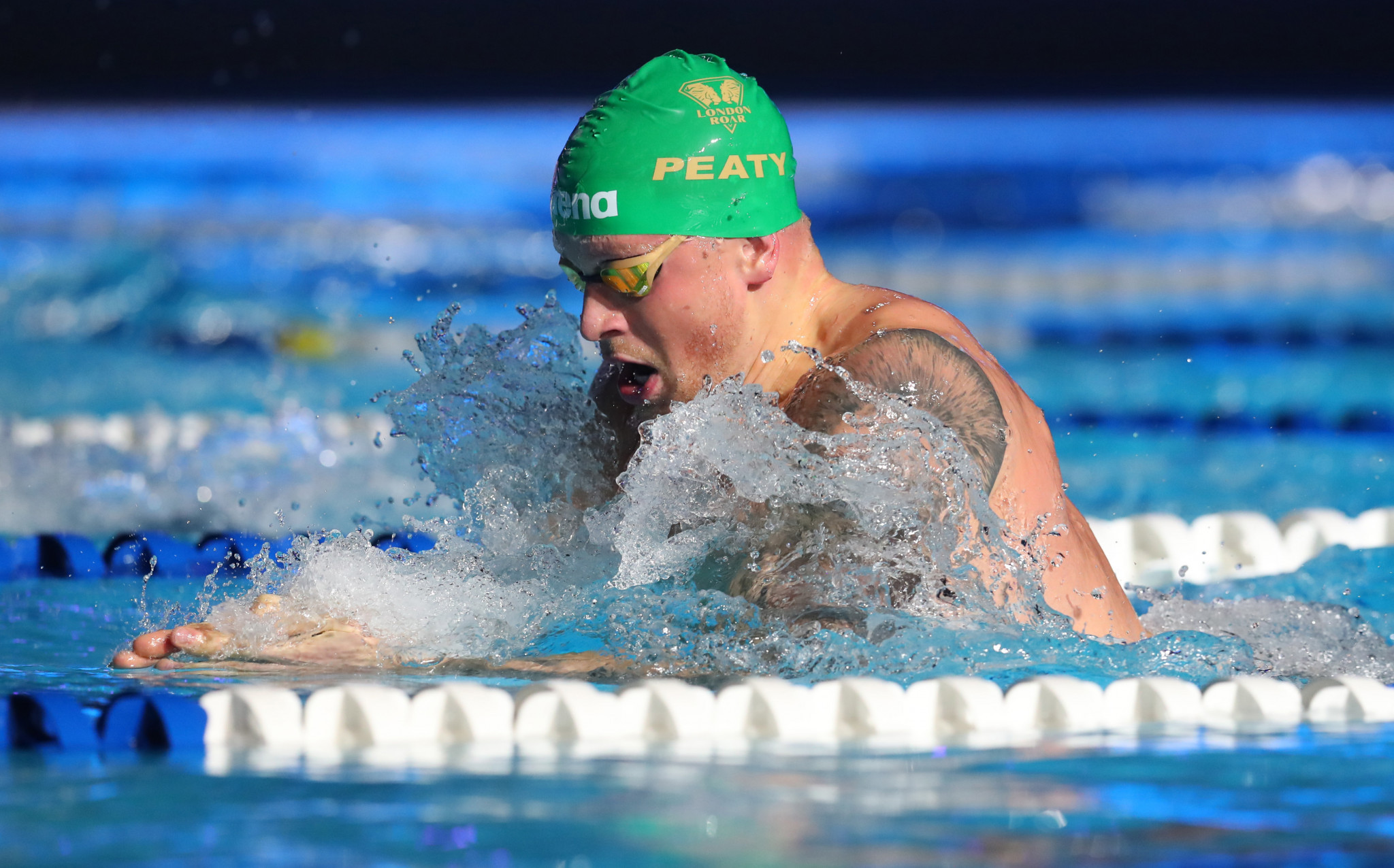 Olympic swimming champion Adam Peaty criticised the British Government for failing to reopen sport facilities ©Getty Images