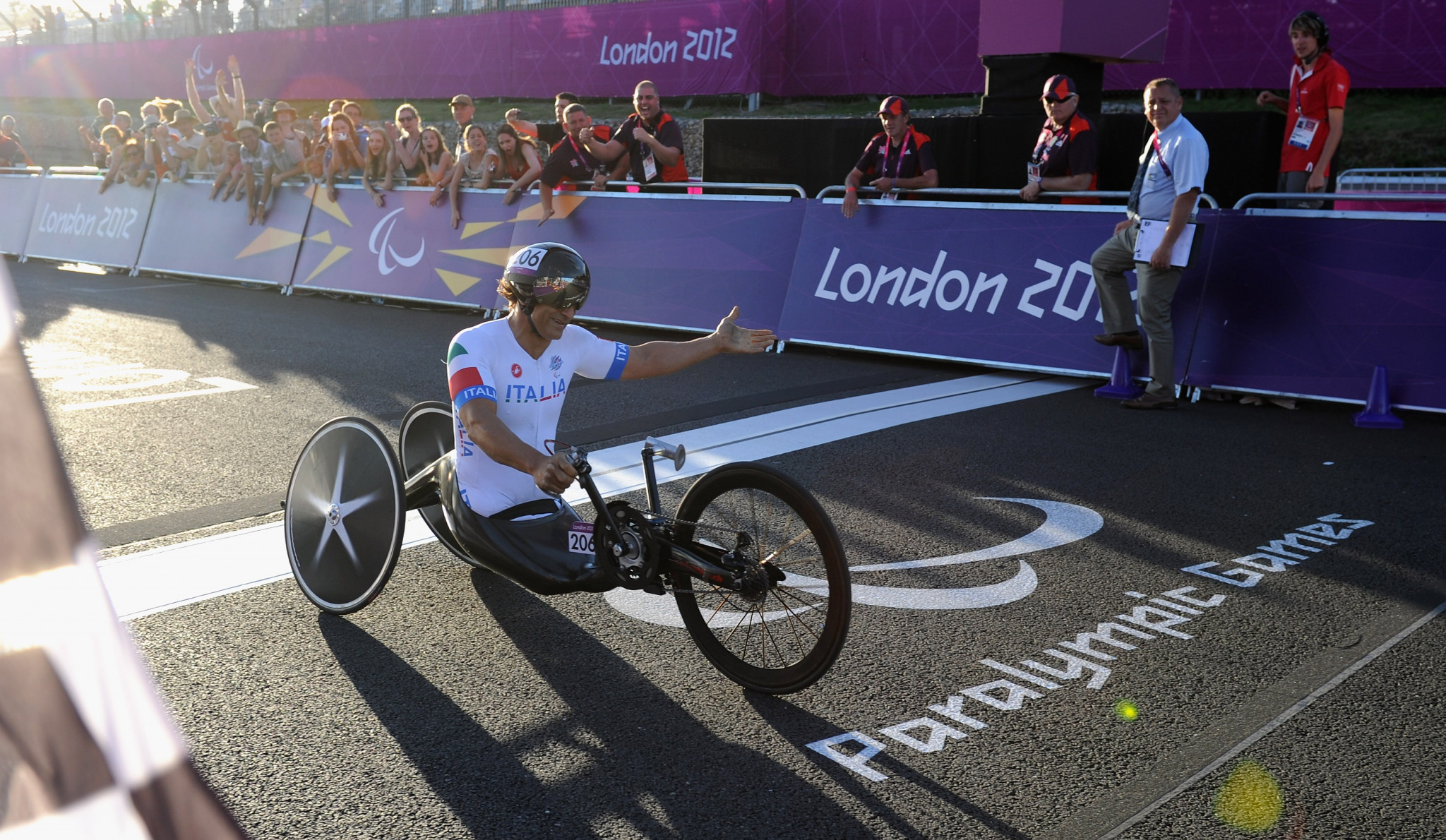 Alex Zanardi earned two gold medals at the London 2012 Olympic Games ©Getty Images