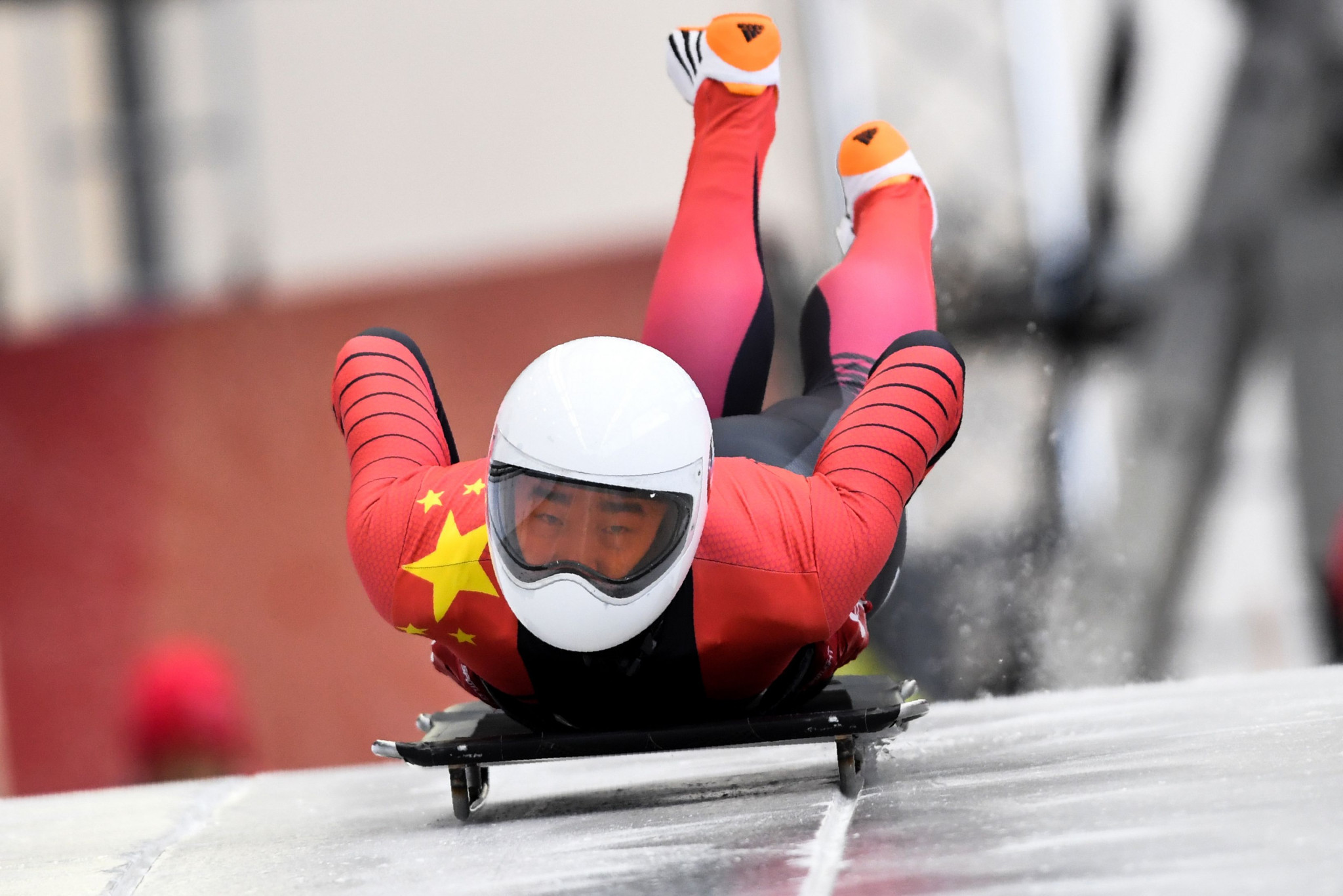 Wenqiang Geng's podium finish was reportedly seen by 13 million people in China ©Getty Images