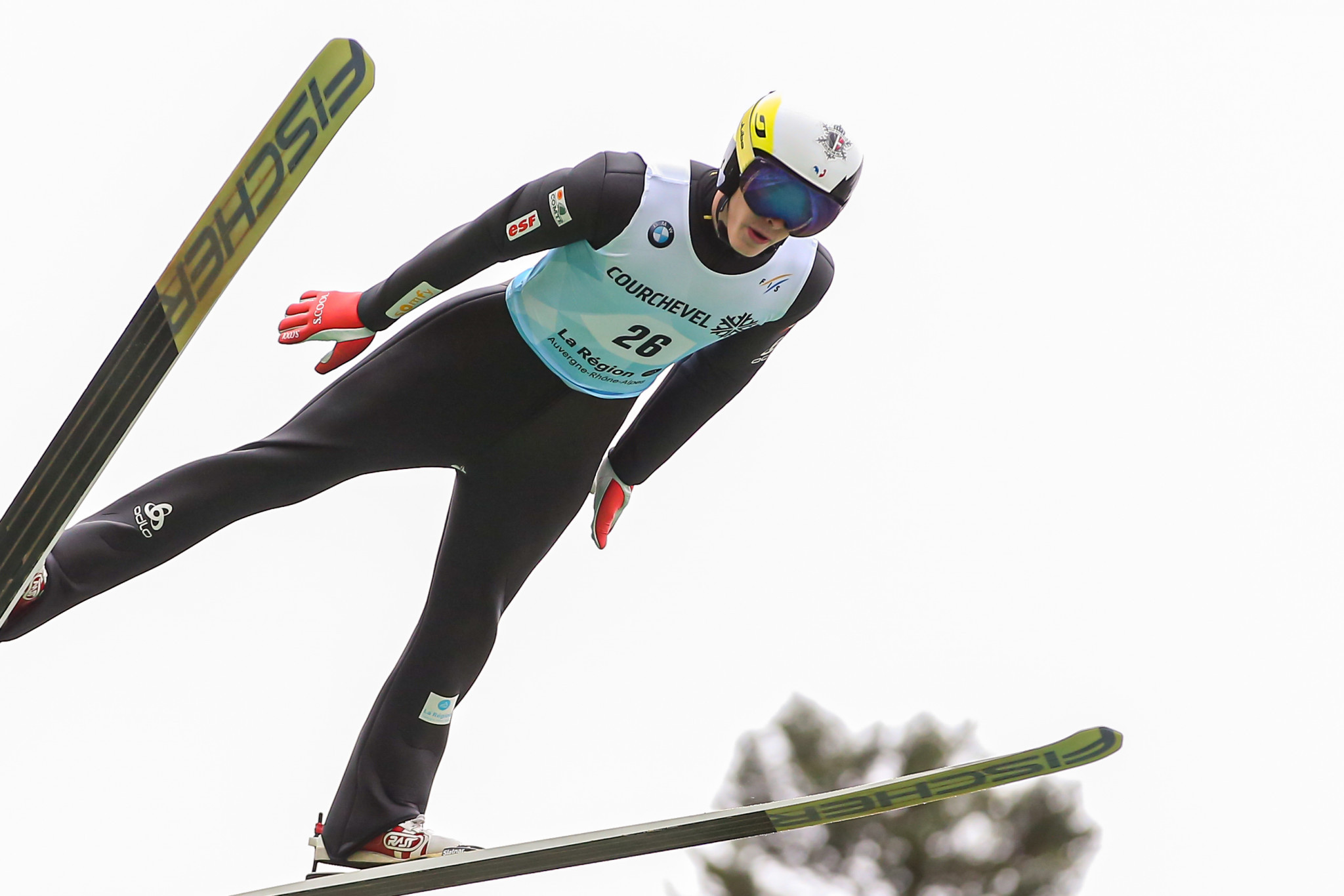 Jonathan Learoyd is one of France's hopes in ski jumping ©Getty Images