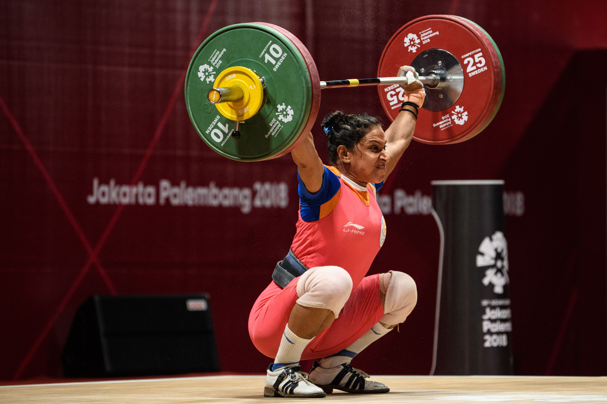 Indian weightlifters are boycotting products made in China ©Getty Images