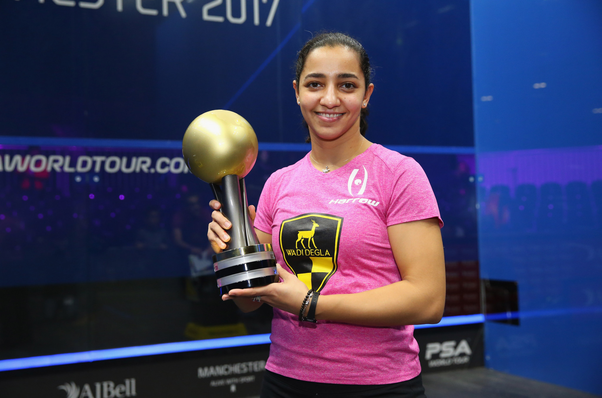 World number one El Welily announces immediate retirement from squash