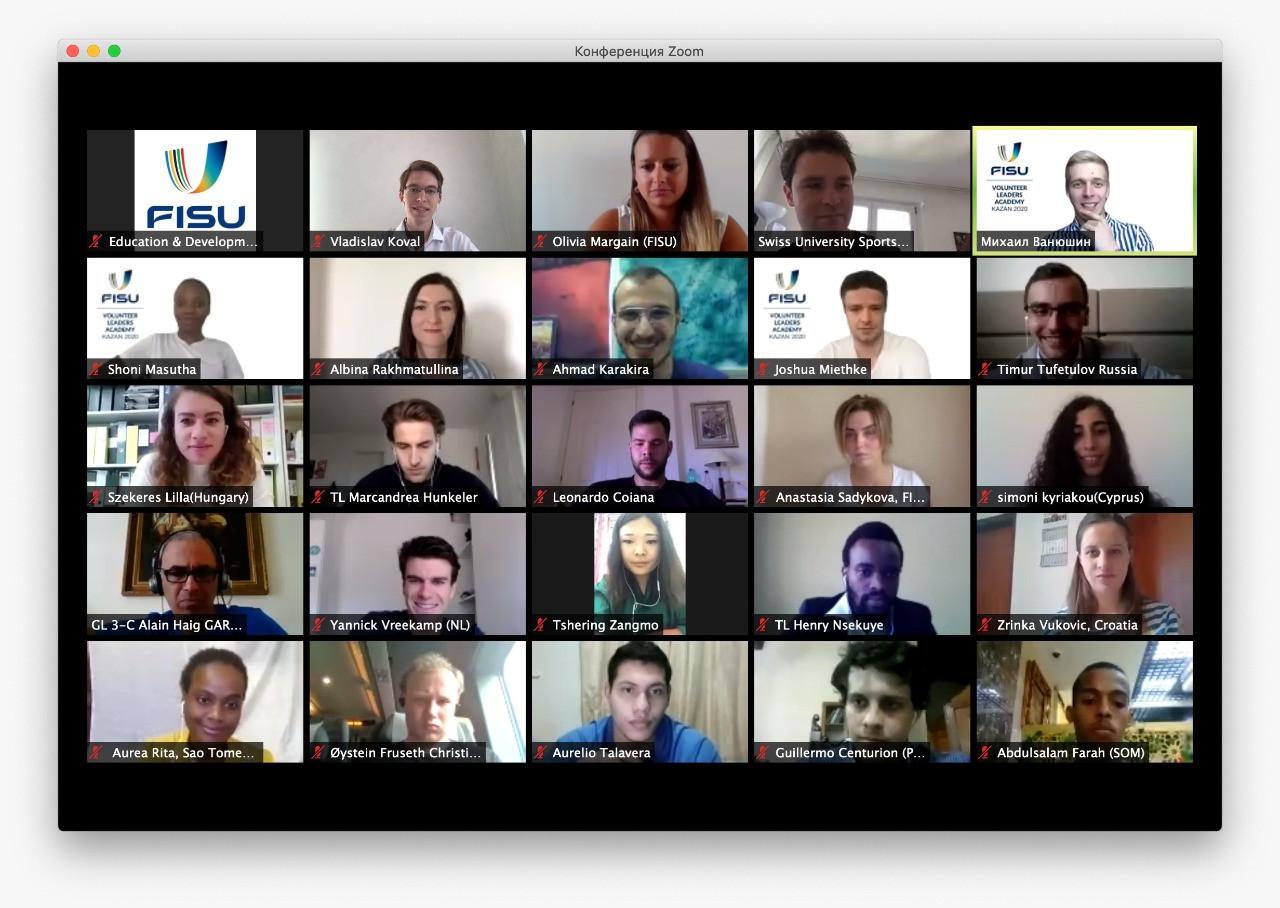 """FISU hold """"successful"""" Volunteers Leaders Academy meeting online"""