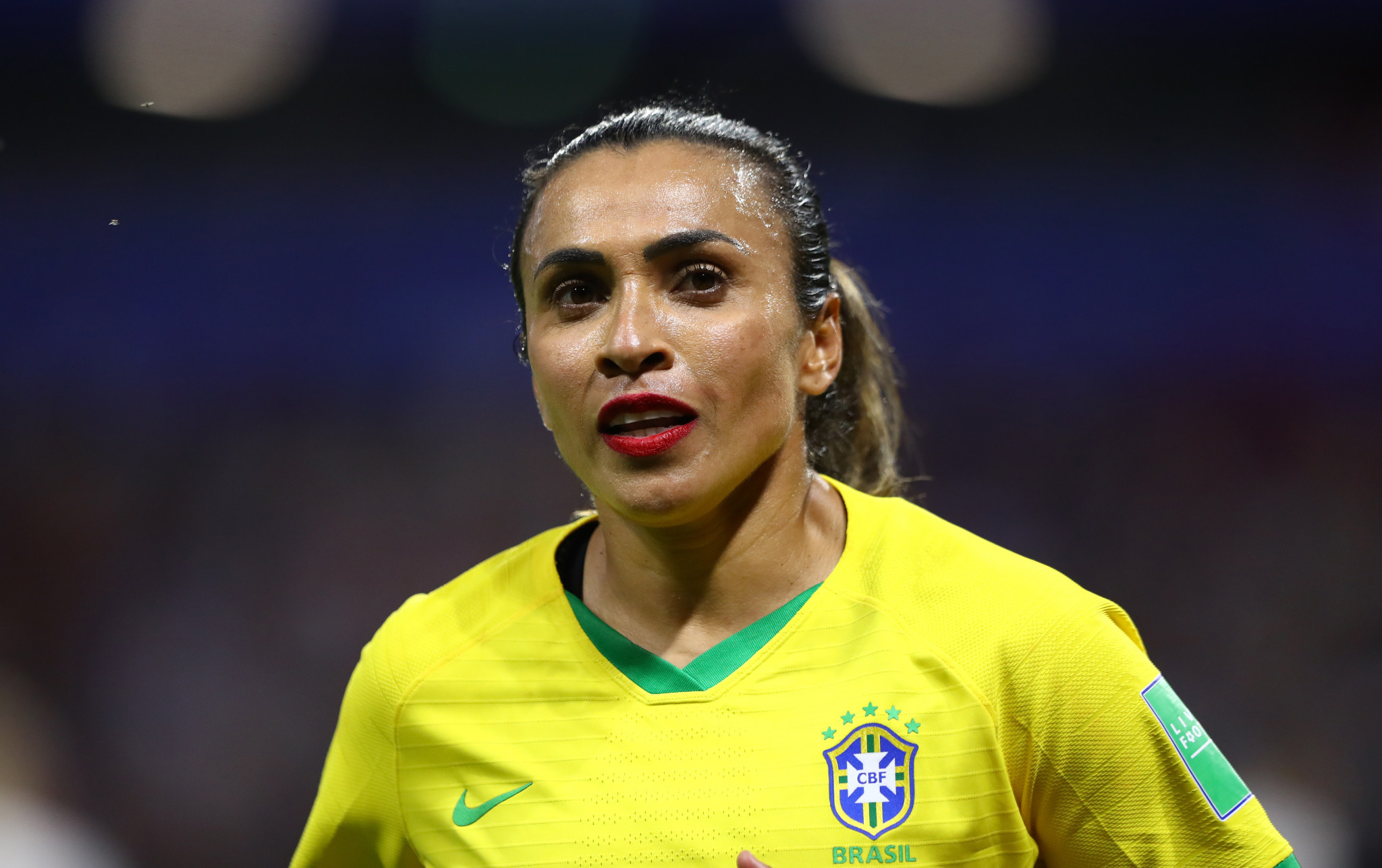 Brazilian footballer Marta also participated in the discussion hosted by UN75, calling for women's sport to not be forgotten post the coronavirus pandemic ©Getty Images