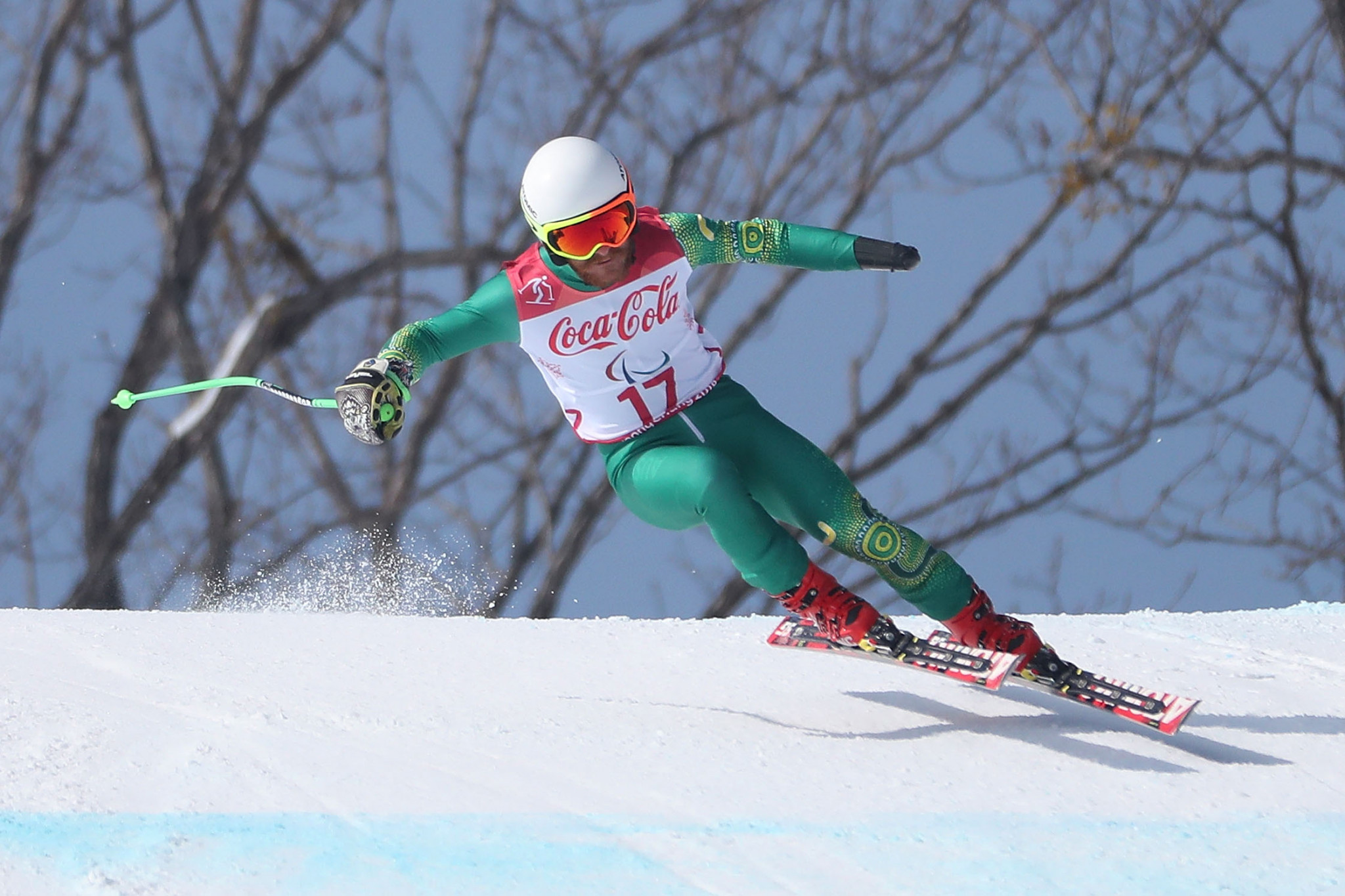 Alpine skiier Mitchell Gourley has been elected to the Paralympics Australia Athlete Commission ©Getty Images