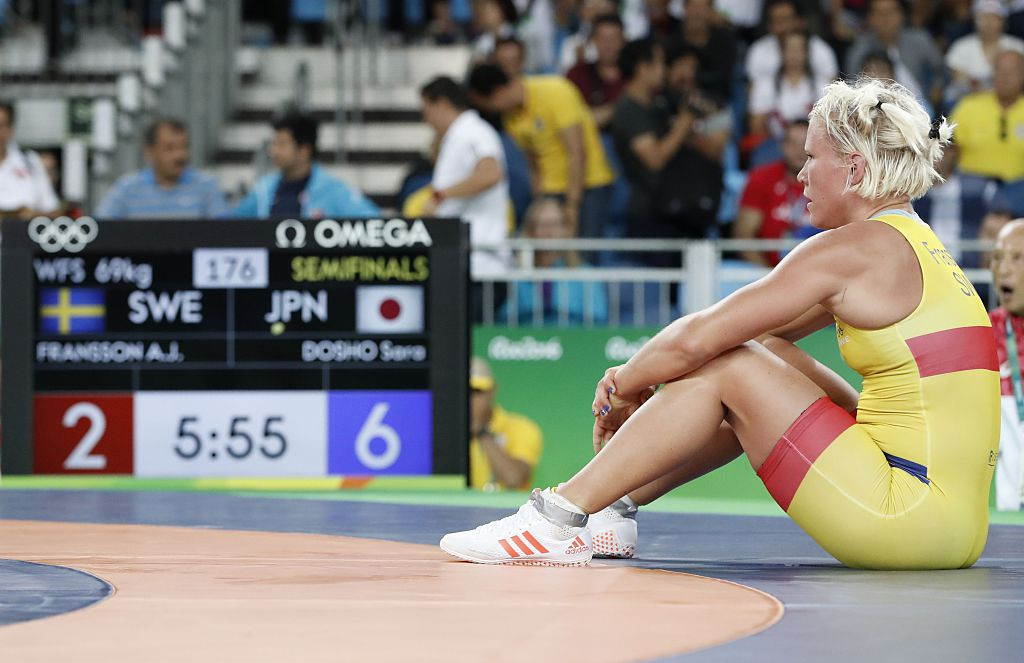 Olympic wrestling bronze medallist Fransson given four-year doping ban