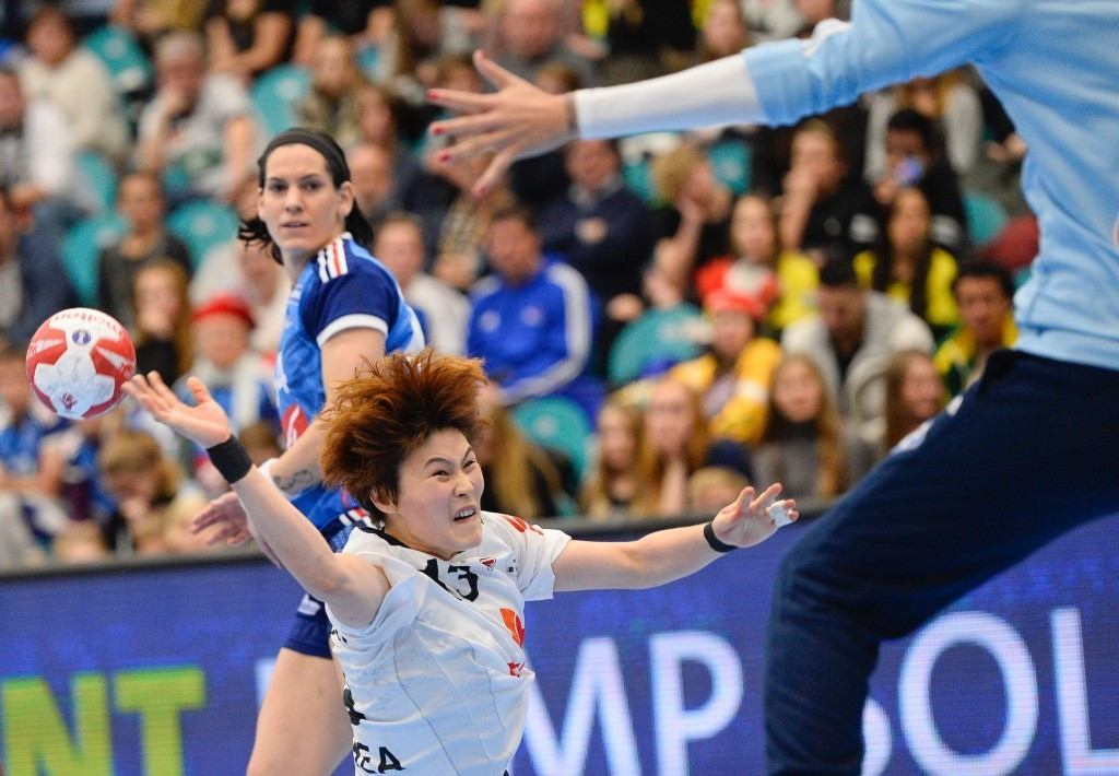 Video technology was abandoned at the Women's World Handball Championships following problems in South Korea's match with France ©Getty Images