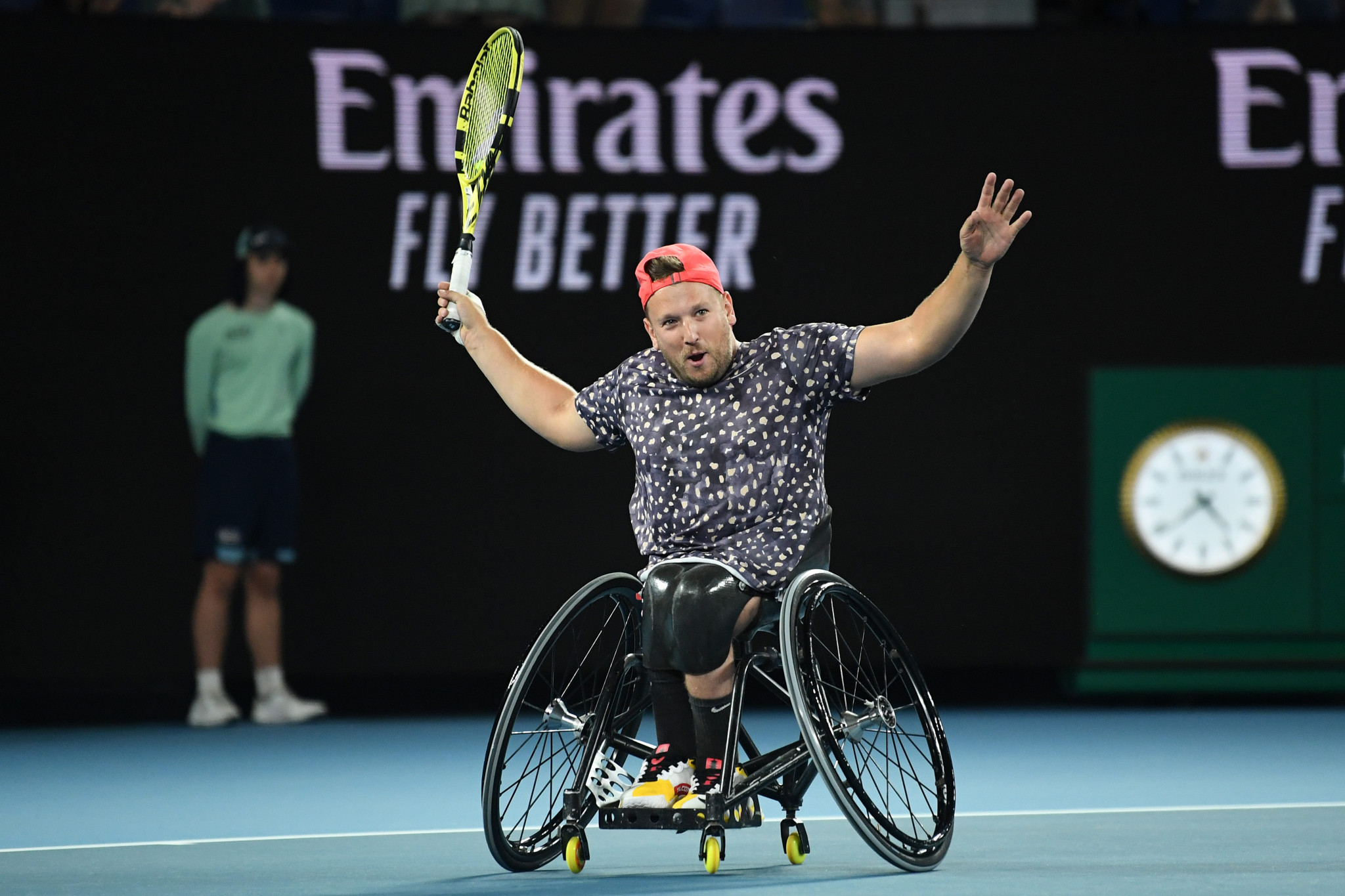 Dylan Alcott was among the wheelchair tennis players to criticise US Open organisers for not including a wheelchair tournament at this year's event ©Getty Images