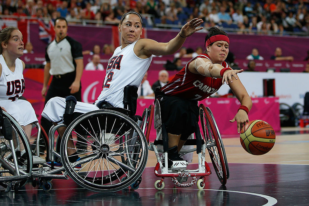 The 31-year-old is targeting a podium finish for Canada in the women's wheelchair basketball event at Tokyo 2020 ©Getty Images