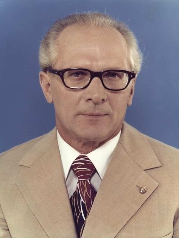 Erich Honecker was head of an East German Government that ran a massive state-sponsored doping programme ©Wikipedia