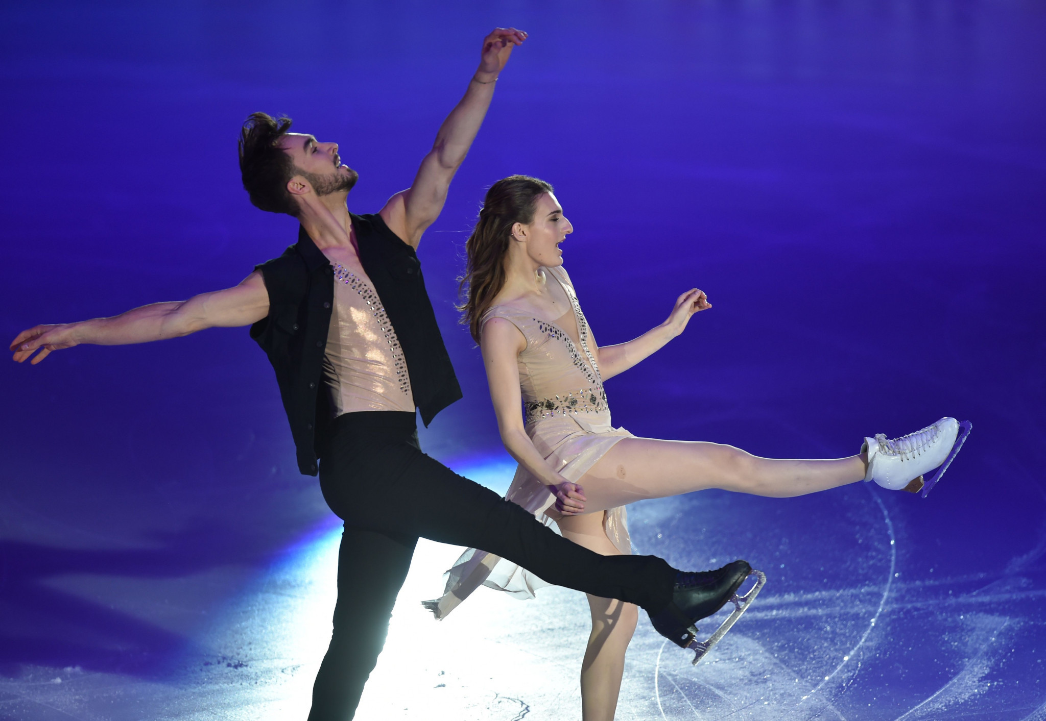 Gabriella Papadakis and Guillaume Cizeron also received two nominations ©Getty Images