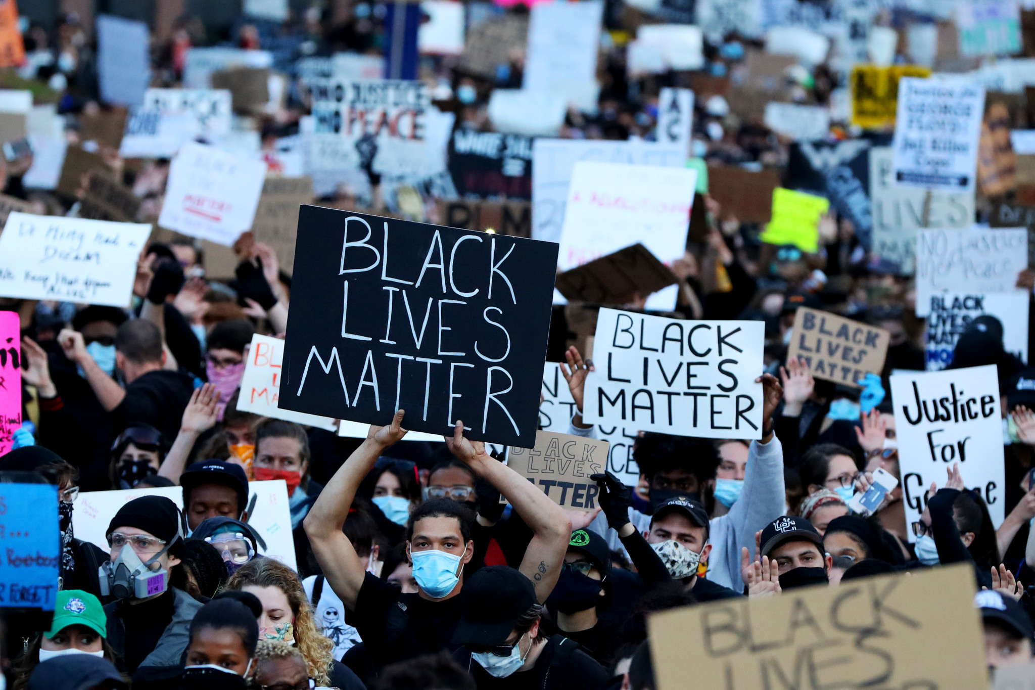 With Black Live Matter protests across the globe, sport must seize this chance to make lasting change ©Getty Images