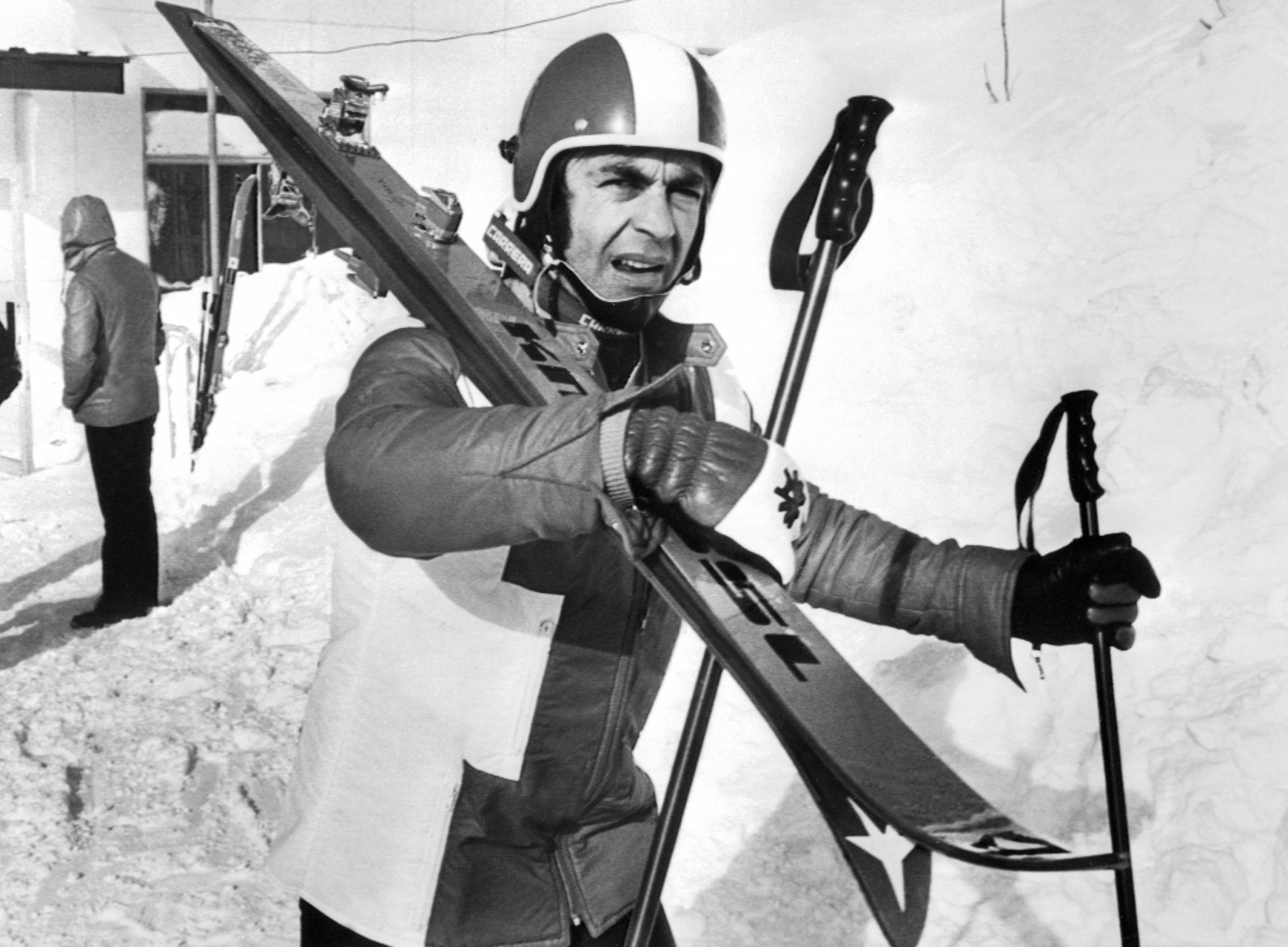 """Austrian skier Karl Schranz, banned from the 1972 Winter Olympics, said """"Brundage had his black list"""" ©Getty Images"""