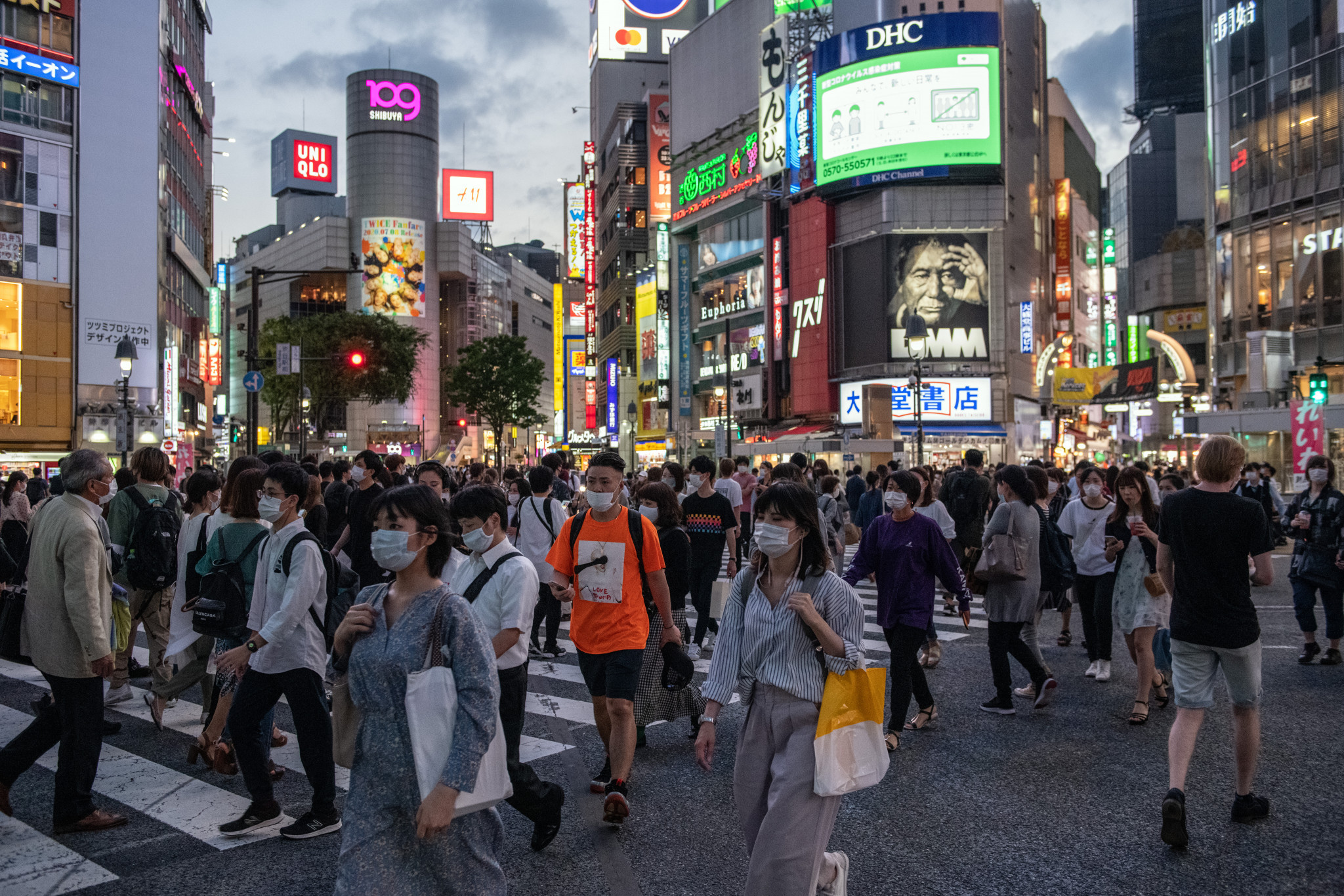 Tokyo reported 60 new cases of coronavirus today, the highest number of daily cases in the capital since Japan completely lifted the nationwide state of emergency in late May ©Getty Images