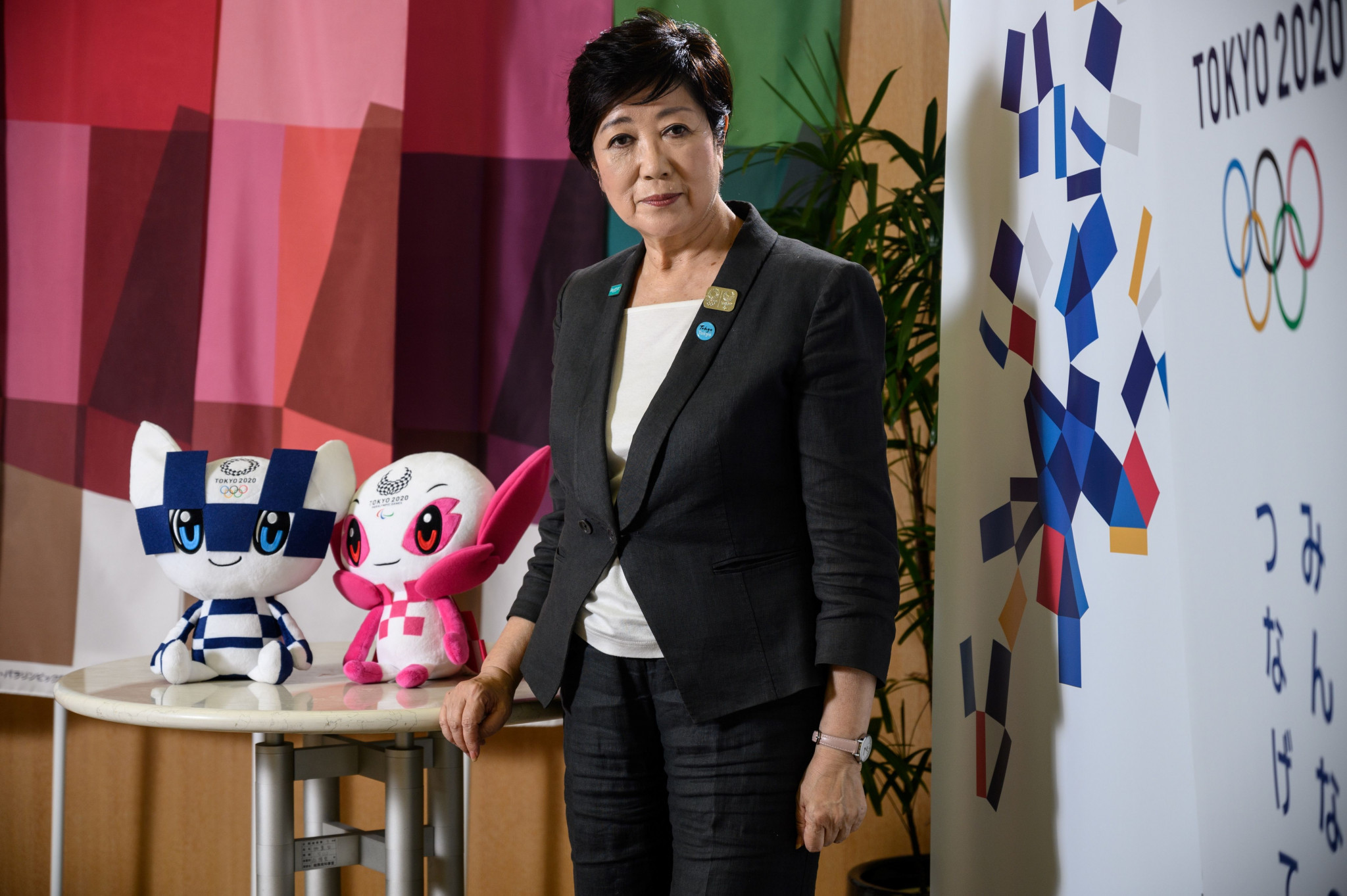 Tokyo Governor Yuriko Koike rejected claims of a second wave in the Japanese capital ©Getty Images