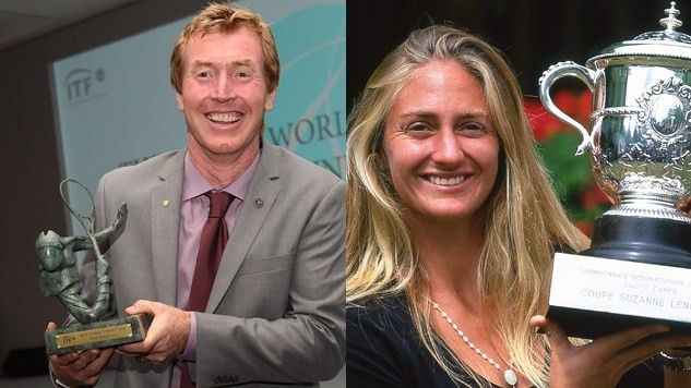 Australia's Mark Woodforde and France's Mary Pierce have been appointed to the ITF Board of Directors ©Getty Images