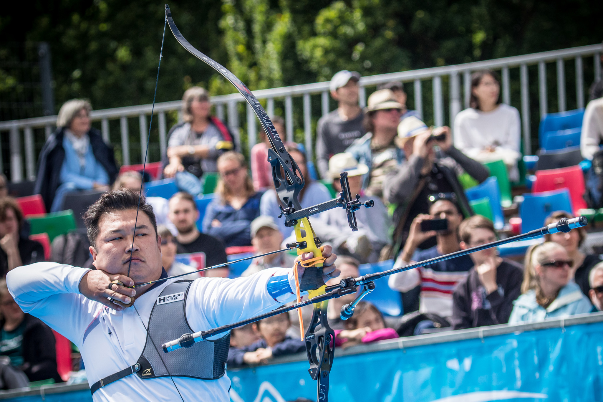 Oh Jin-hyek has been selected for this year's South Korean archery team ©Getty Images