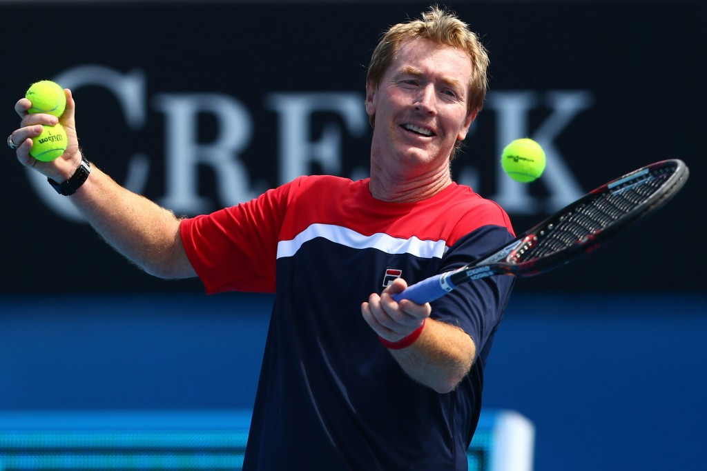Mark Woodforde won an Olympic gold medal in doubles as well as 12 grand slam doubles titles