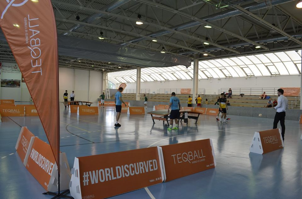 Sárréti Teqball Sport Association holds first tournament