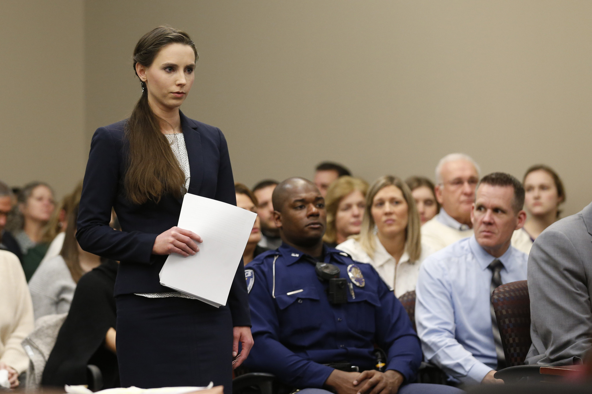 Rachael Denhollander was the first to go public about the abuse she suffered from Larry Nassar ©Getty Images