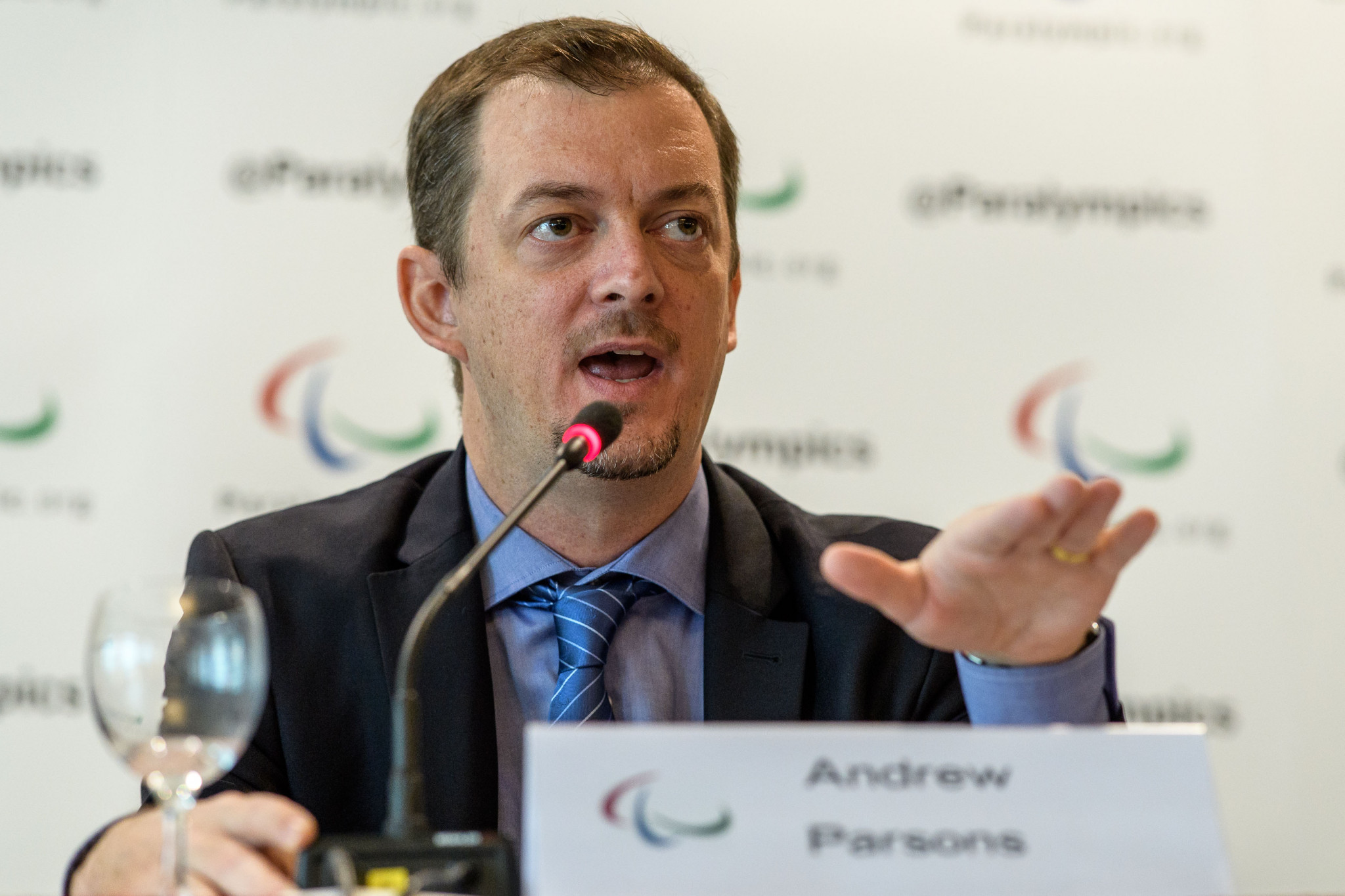 International Paralympic Committee President Andrew Parsons will relay key decisions to stakeholders ©Getty Images