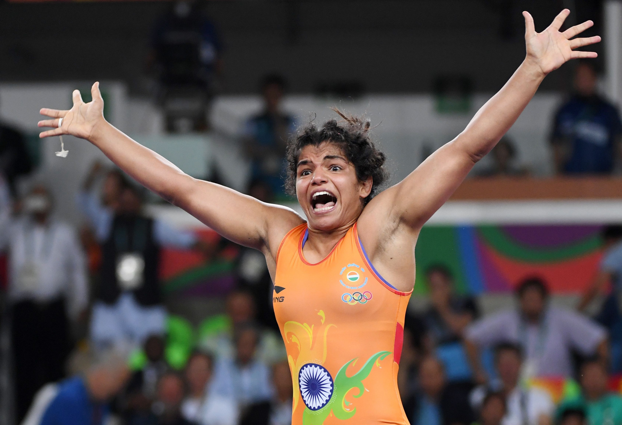 Wrestler Sakshi Malik was one of only two Indian medal winners at Rio 2016 ©Getty Images