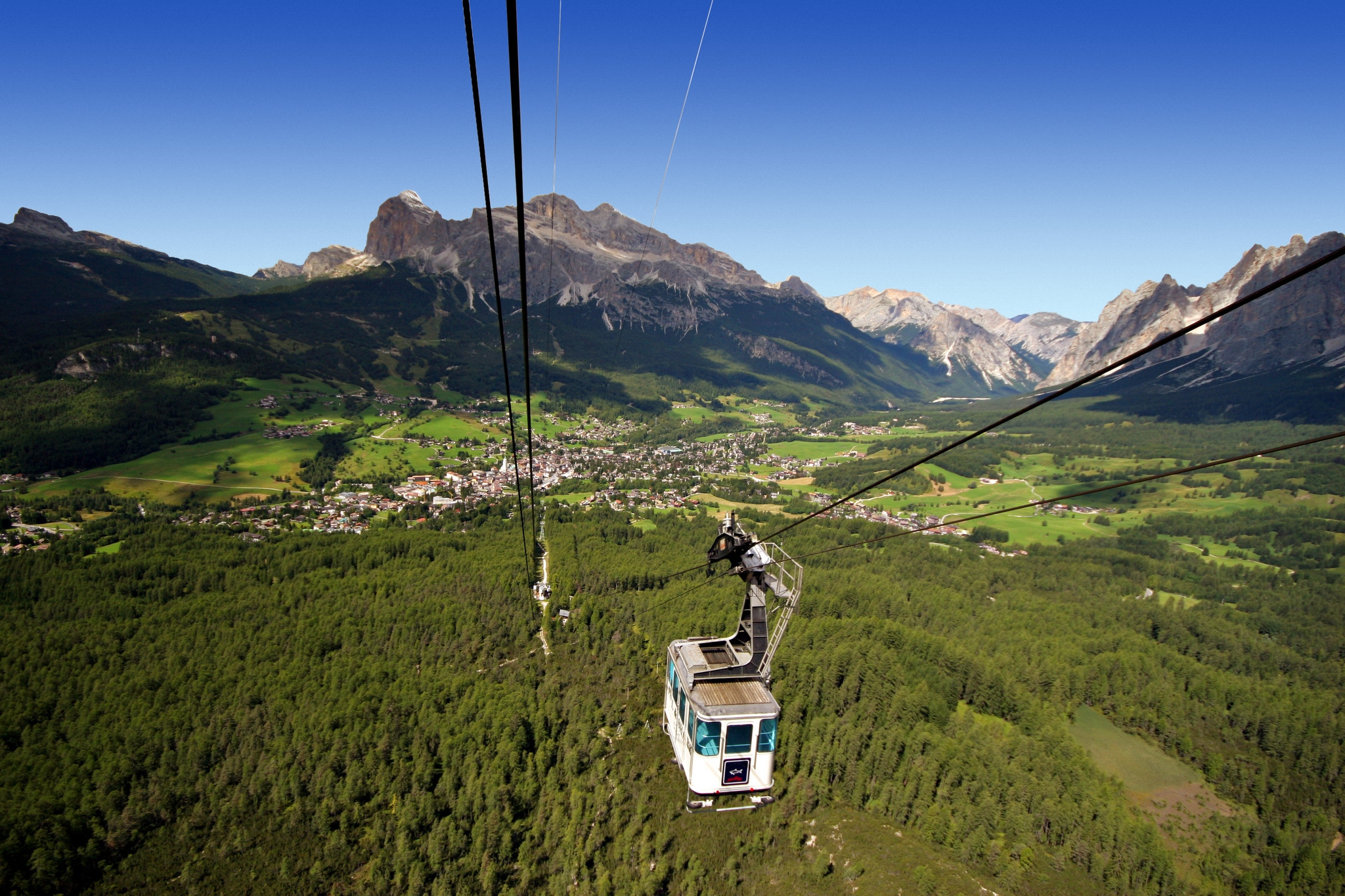 The cableway will be environmentally sound when reopened ©Nidec