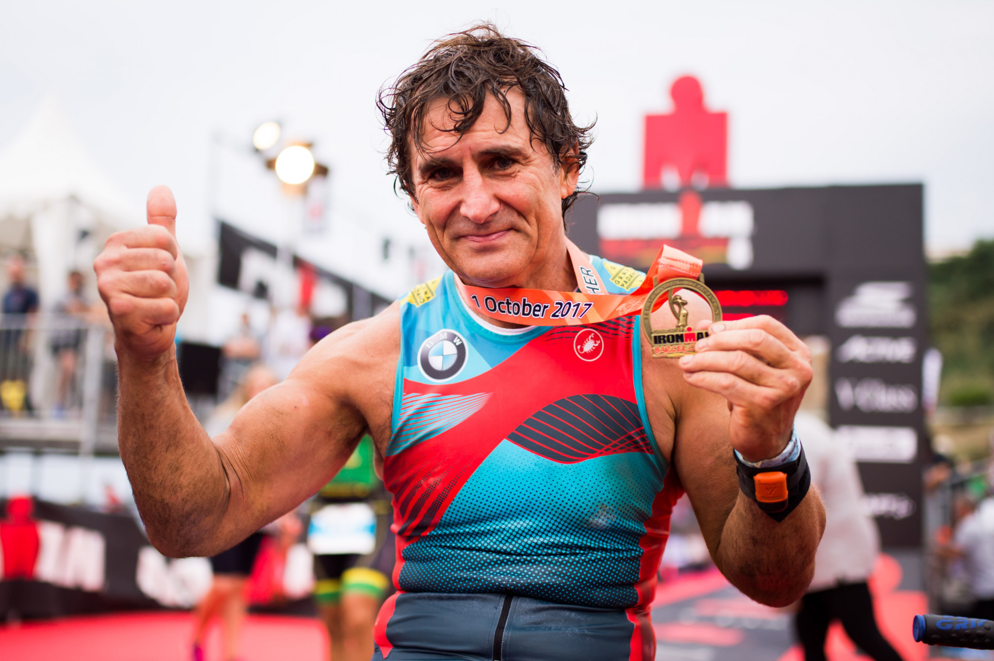 Paralympic champion Zanardi has brain surgery for second time after crash