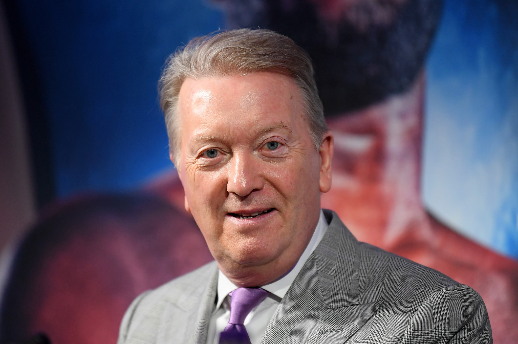 Promoter Frank Warren is staging the first card of boxing in Britain since the coronavirus lockdown next month ©Getty Images
