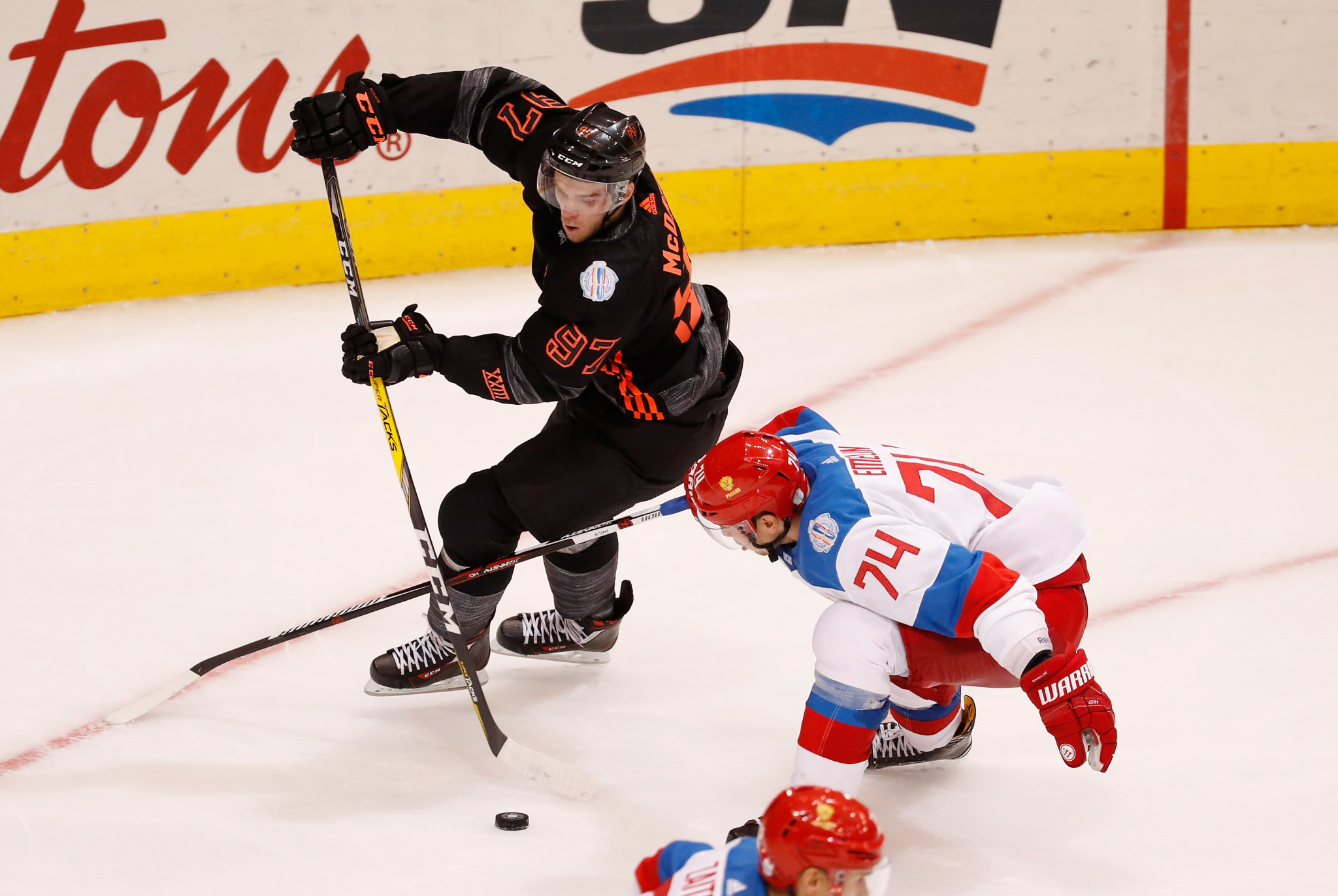 Connor McDavid earned a world title with Canada in 2016 ©Getty Images