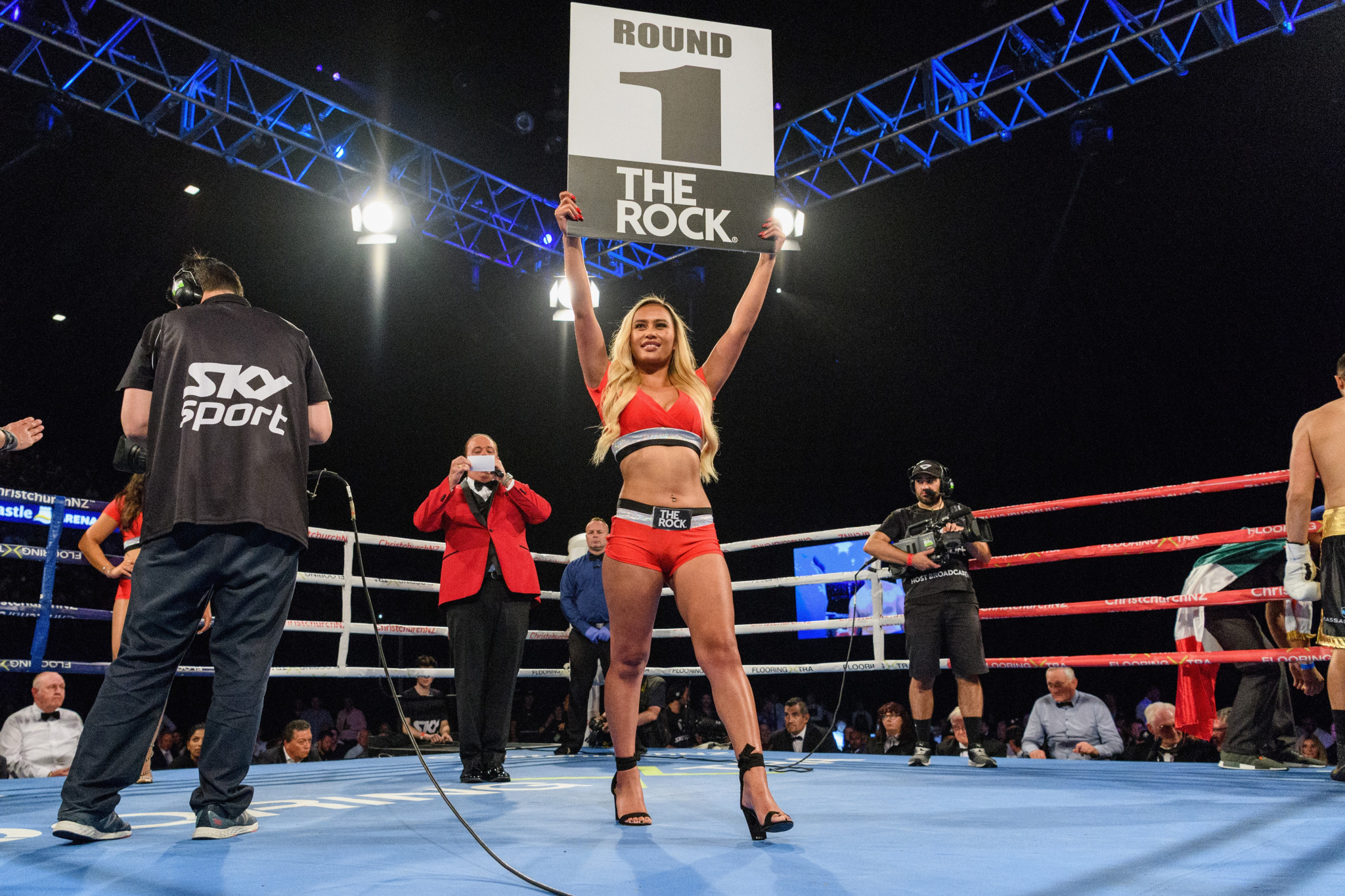 No ring card girls will be allowed when boxing resumes in Britain next month ©Getty Images