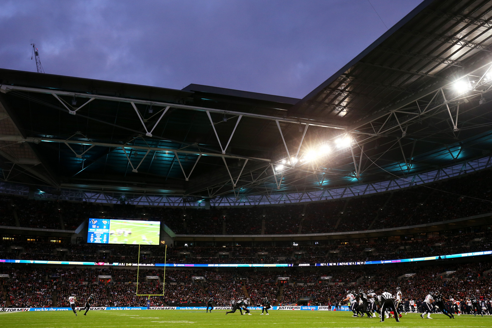 The FA has lost revenue from events such as NFL matches at Wembley ©Getty Images