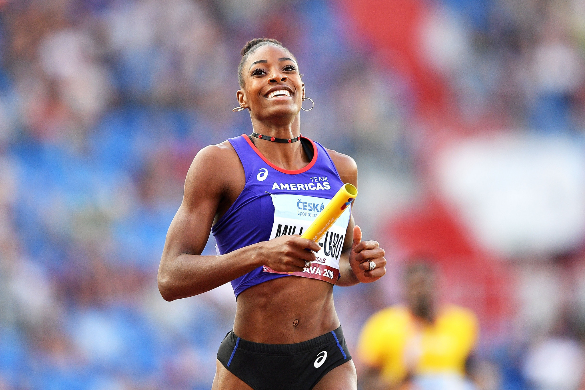 Professional athletes such as Shaunae Miller-Uibo are ineligible for the funding ©Getty Images