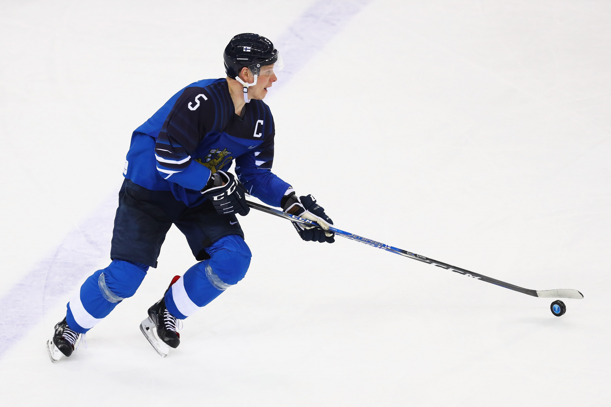 Finland's triple Olympic ice hockey medallist Lasse Kukkonen has announced his retirement from the sport ©Getty Images