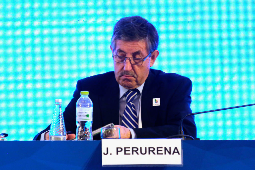 José Perurena's term as ICF President has been extended ©Getty Images