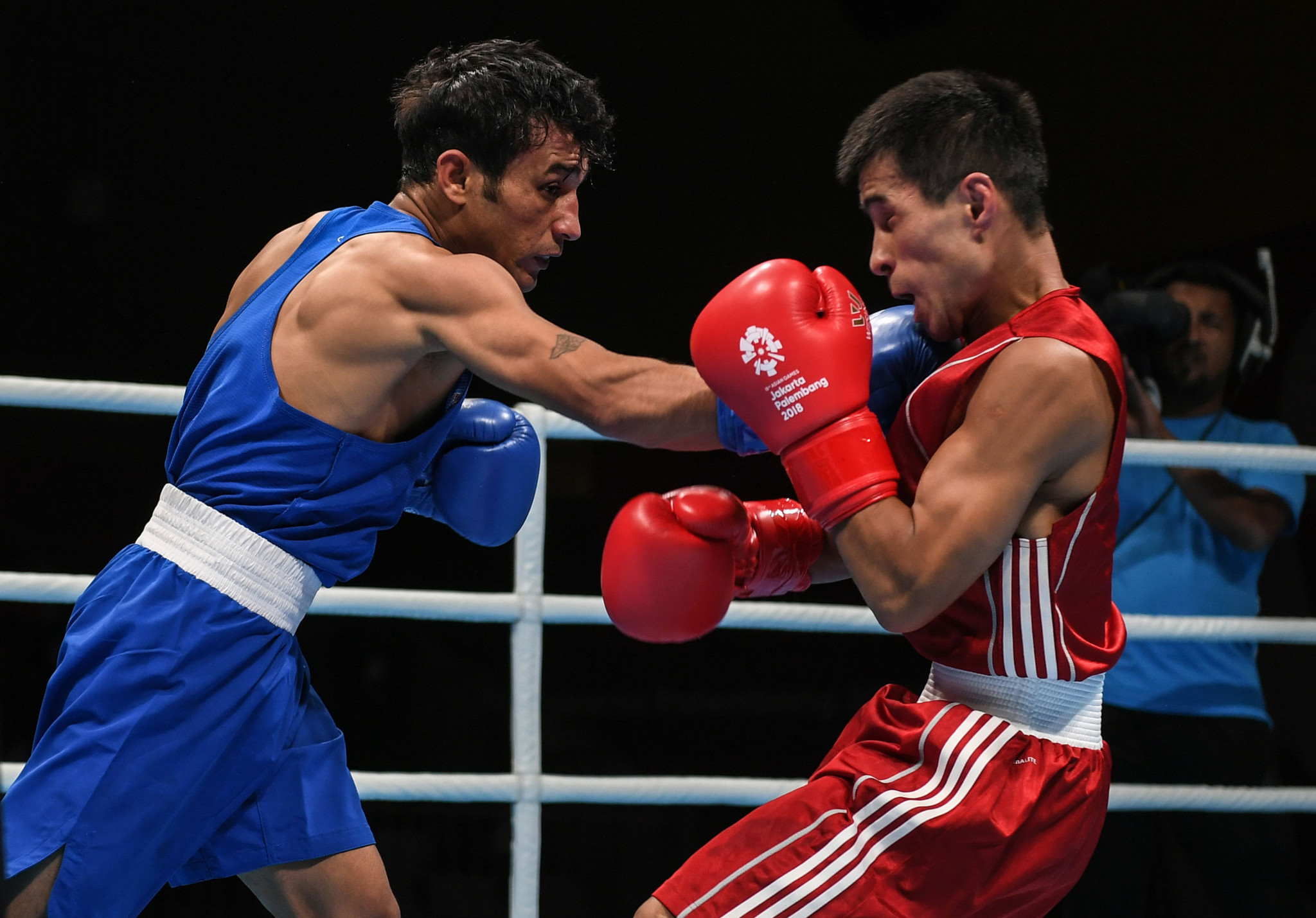 Mirlan Turkbay Uulu previously won a bronze medal at the Asian Boxing Championships ©Getty Images