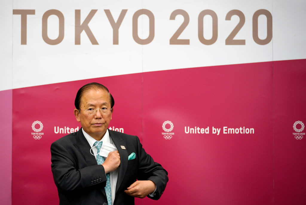 Tokyo 2020 chief executive Toshirō Mutō said a reduced number of spectators was among the options being discussed ©Getty Images