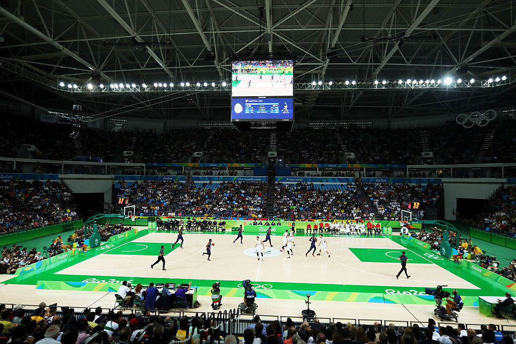 Full venues provide great images for Olympic broadcasters ©Getty Images