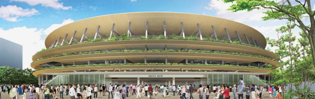 Kengo Kuma's successful design for the new National Stadium, the centrepiece of the Tokyo 2020 Olympics and Paralympics, has been described as looking like a