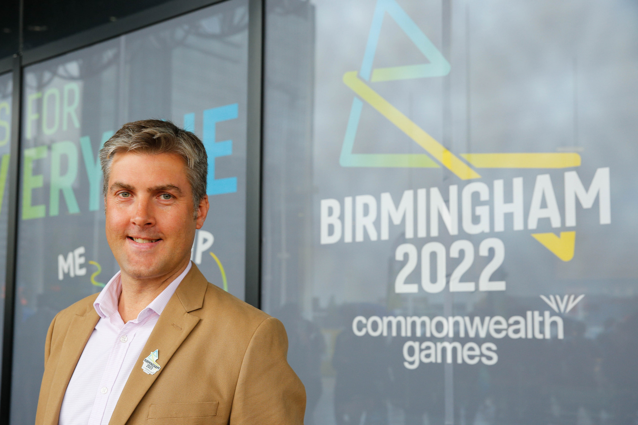 Birmingham 2022 chief executive Ian Reid has responded to claims that the top of the organisation is not reflective of the region ©Getty Images