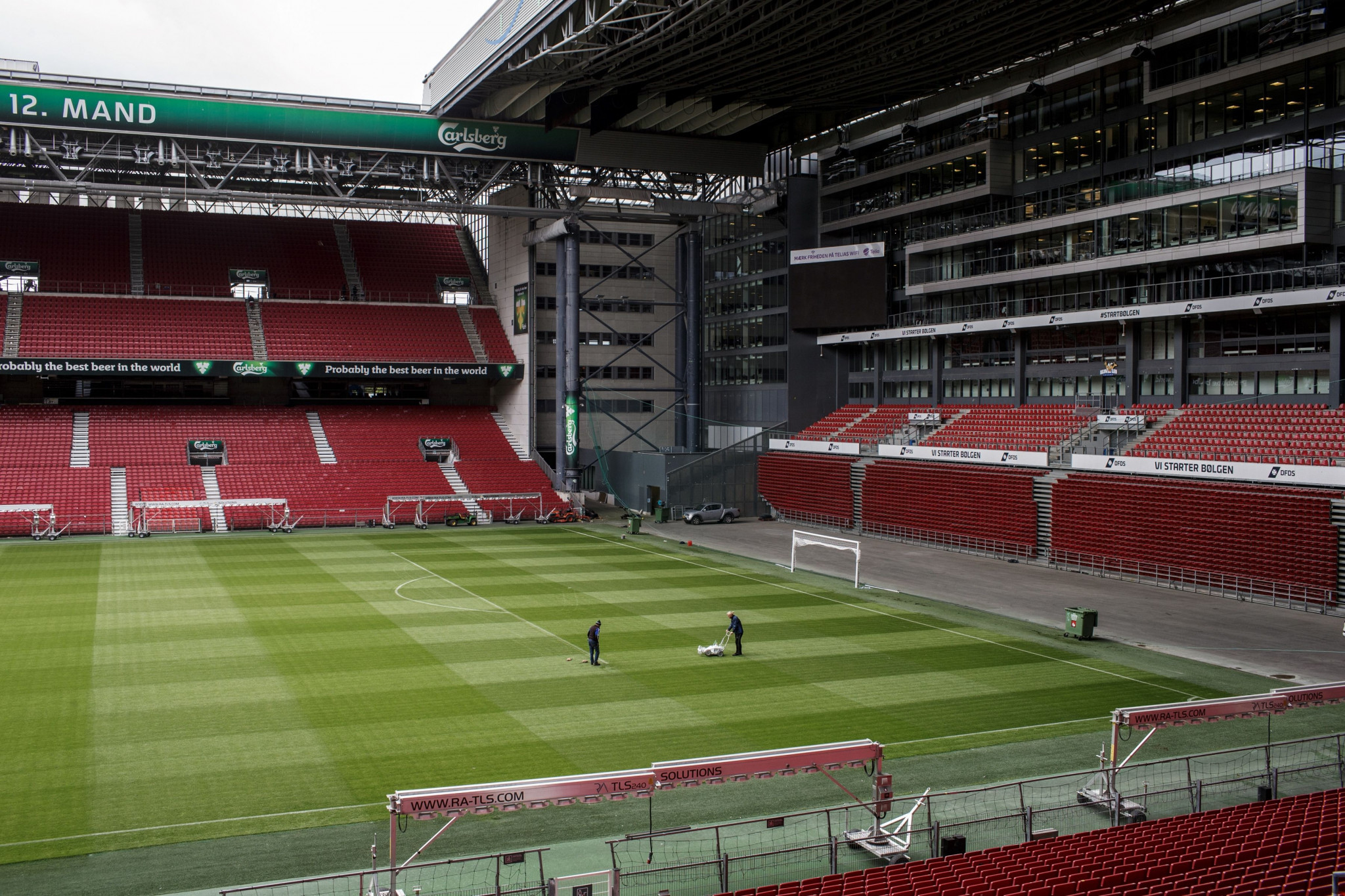 Parken Stadium is due to host a Euro 2020 last 16 match on June 28 next year ©Getty Images