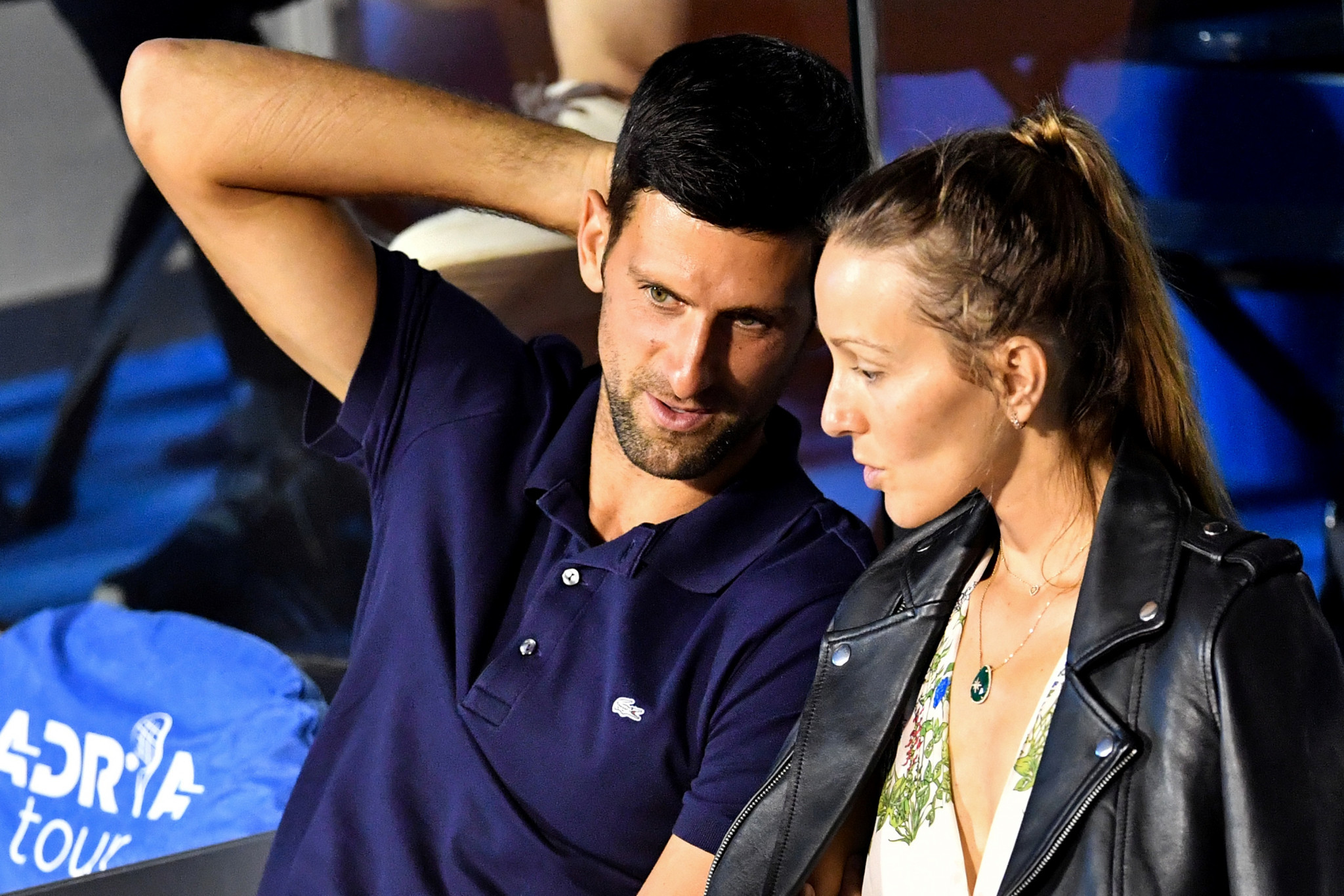 Novak Djokovic, wife test negative for coronavirus
