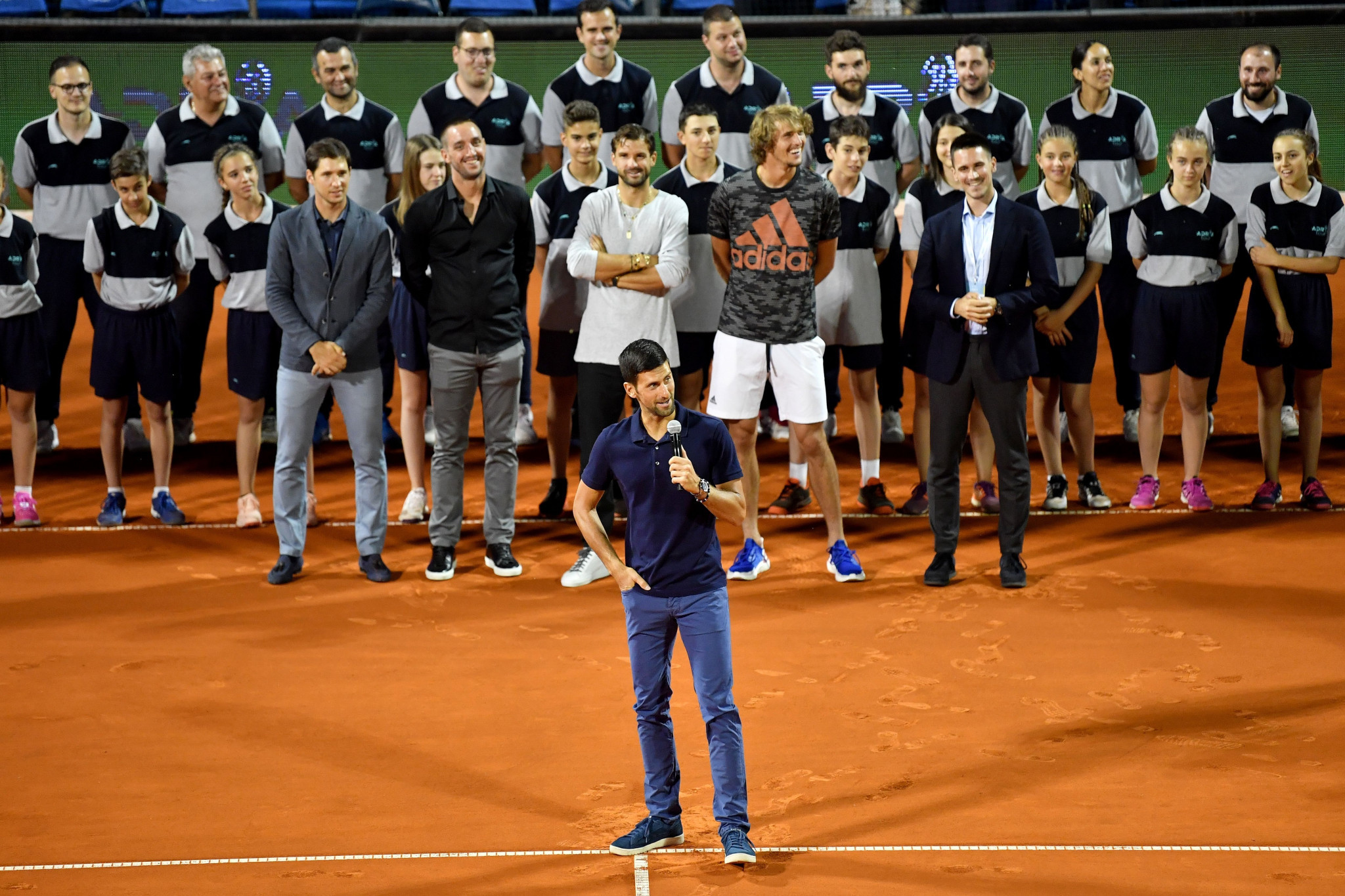 Novak Djokovic was one of four players to test positive following the Adria Tour ©Getty Images