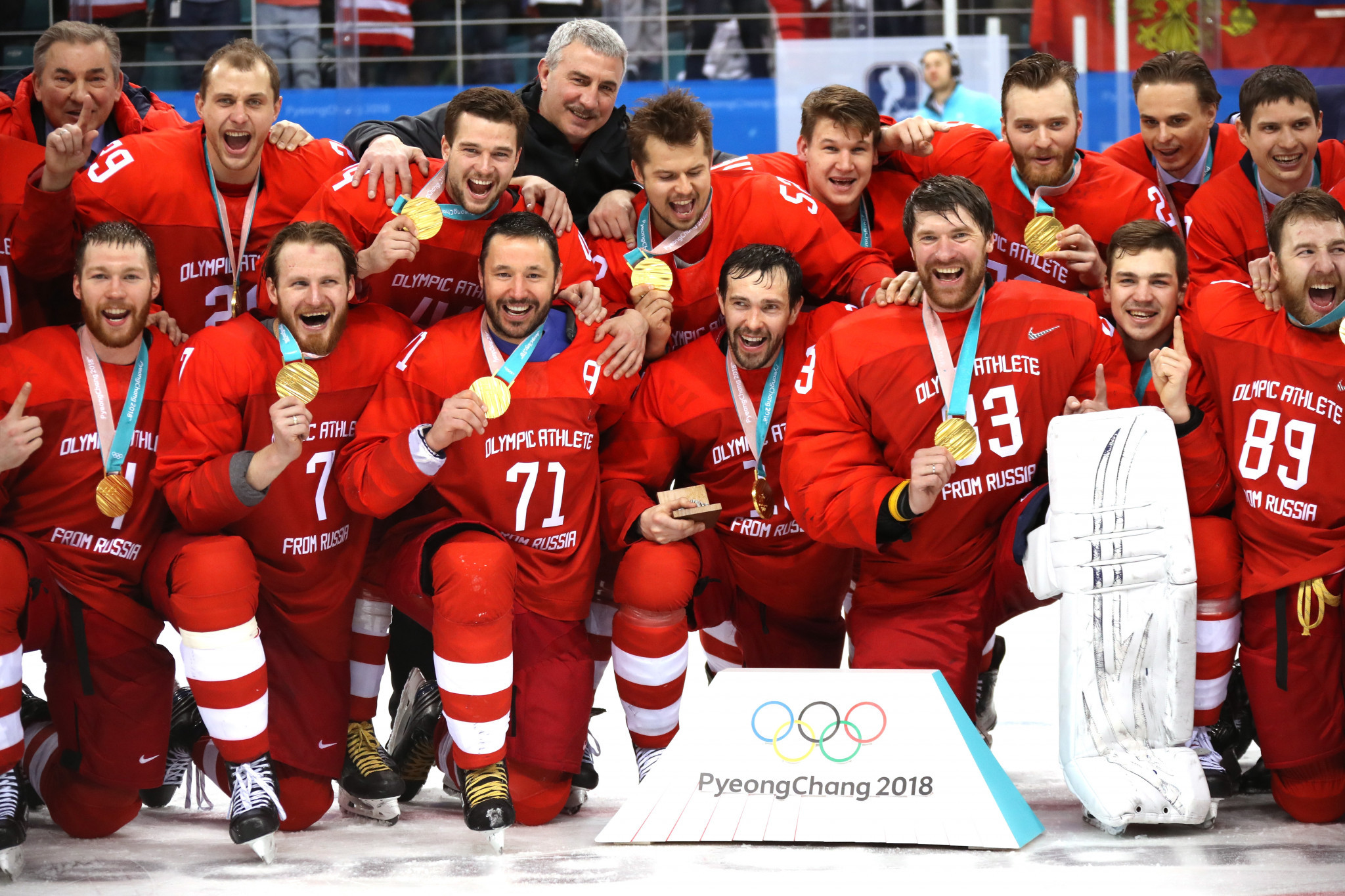 Russia earned Olympic gold in the men's ice hockey contest at Pyeongchang 2018 ©Getty Images