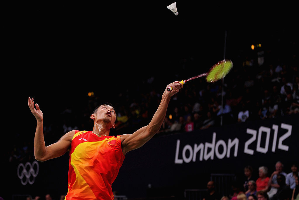 Lin won the second of his two Olympic gold medals at London 2012 ©Getty Images
