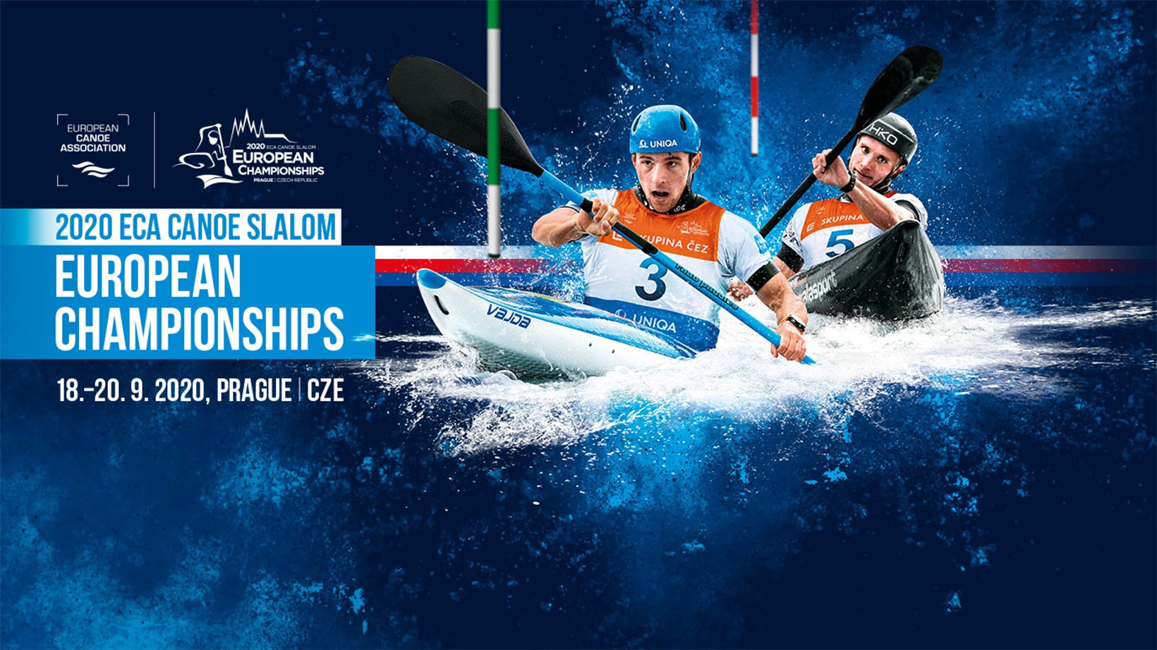 Prague steps in to host 2020 European Canoe Slalom Championships