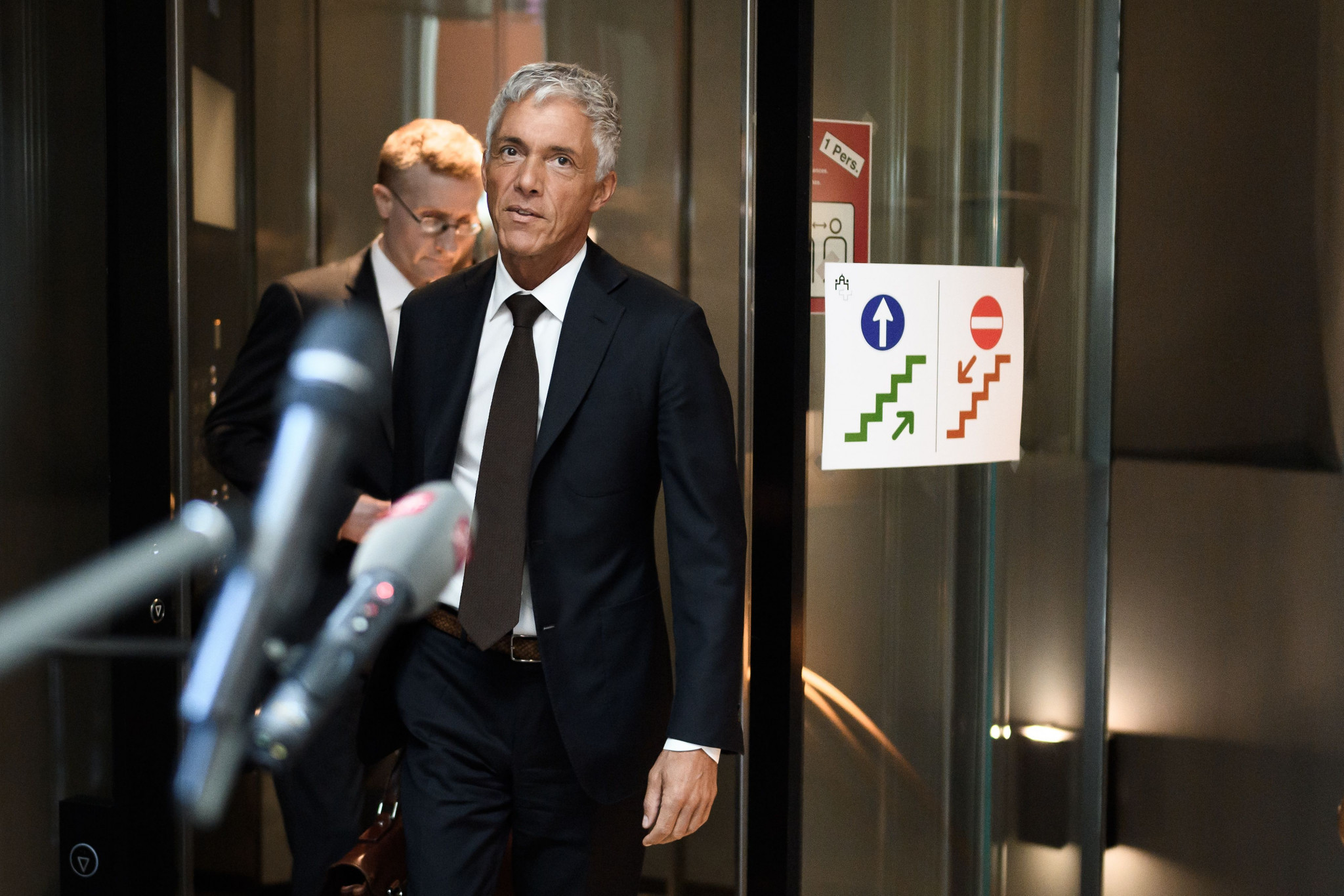 Swiss attorney general Michael Lauber is already the subject of impeachment proceedings ©Getty Images